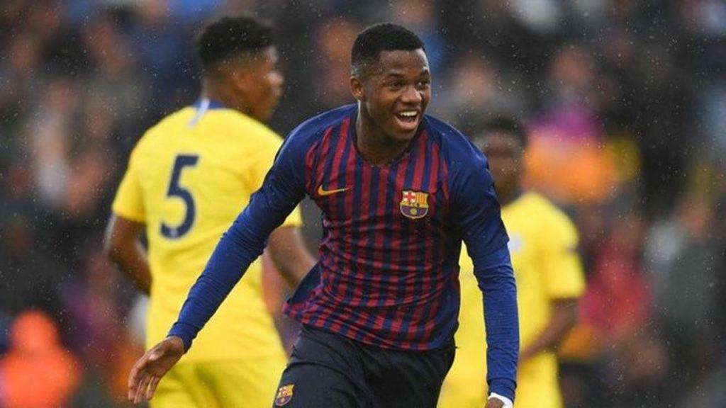 Newcastle dan MU Berebut Pemain Wonderkid Barcelona