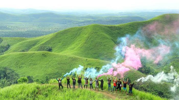 Indahnya Bukit Telang di Kalimantan Selatan